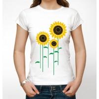 """Українська футболка """"Соняшники"""""""