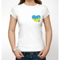 "Патріотична футболка ""Made in Ukraine"""